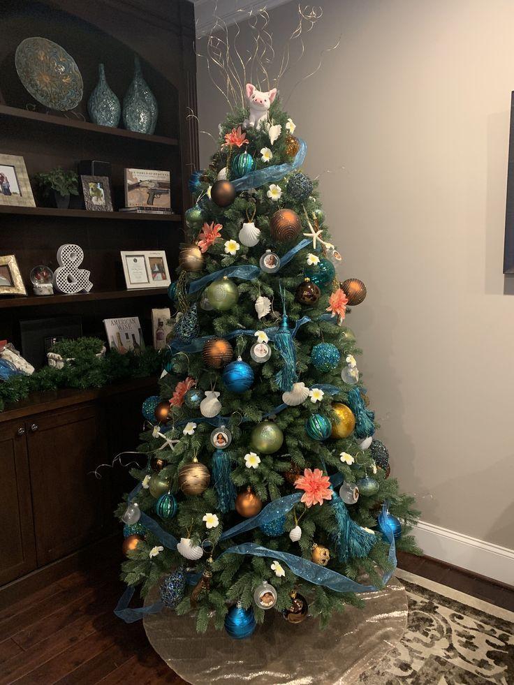 Pin by j on my baby girl 1st bday (moana theme) | Moana ... |Moana Themed Christmas Tree