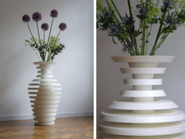 best 25 flower vase design ideas on pinterest vase. Black Bedroom Furniture Sets. Home Design Ideas