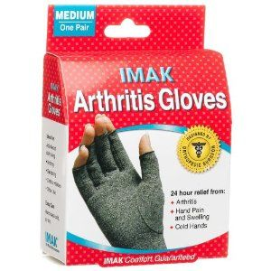 I want this--I've heard such good things about these gloves, too!  Imak Arthritis Gloves Medium (2 Packages of one Pair each package) #spoonie