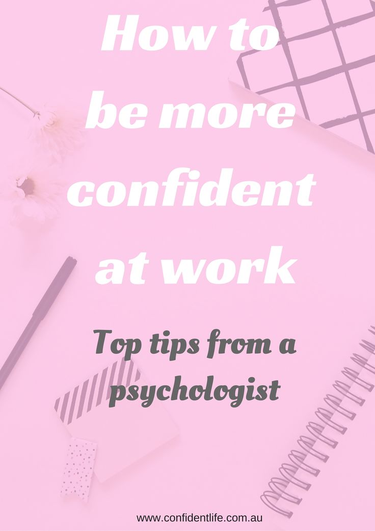 Let's face it, even if you love your job, there are bound to be days where you just don't feel very confident at it. Perhaps someone gave you a negative comment, your kids keep interrupting (if you work from home!), or it's just 'one of those days'. No matter the reason, low confidence at work can really impact on your overall wellbeing and stress levels. Click through to discover 7 ways to be more confident at work!