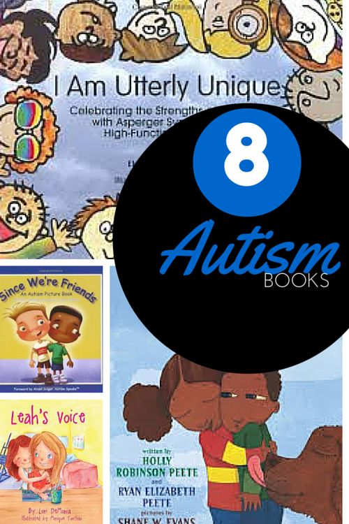 8 children's books about Autism are reviewed. The books about Autism are geared to early childhood and elementary students.