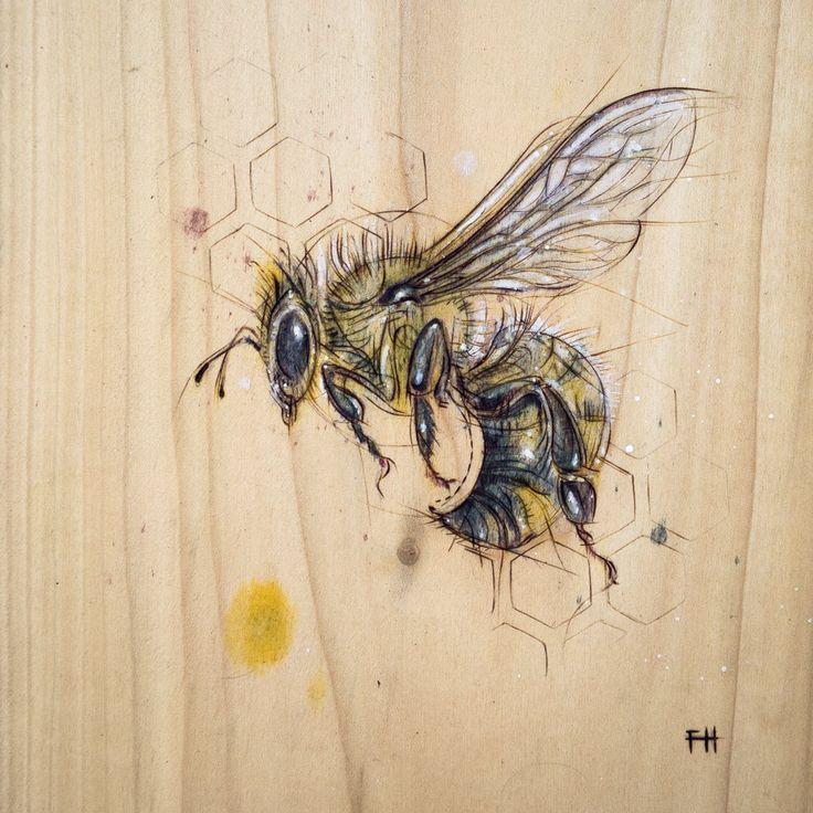 Zinc smokers beekeeping