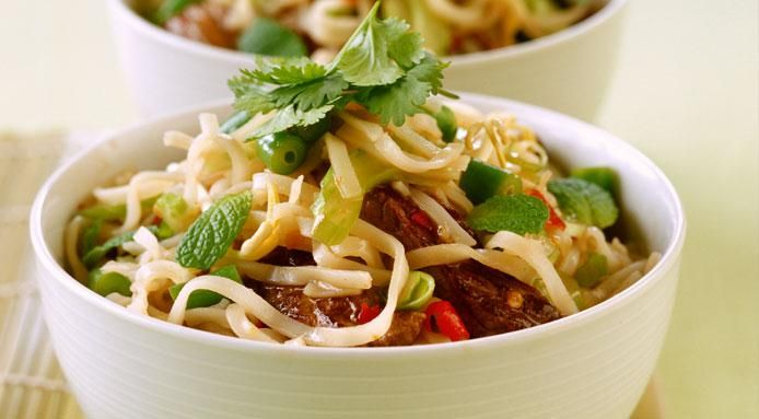 Stir fry #recipes: #Thai beef salad with rice #noodles - http://www.finedininglovers.com/recipes/main-course/stir-fry-recipes-thai-beef-salad/