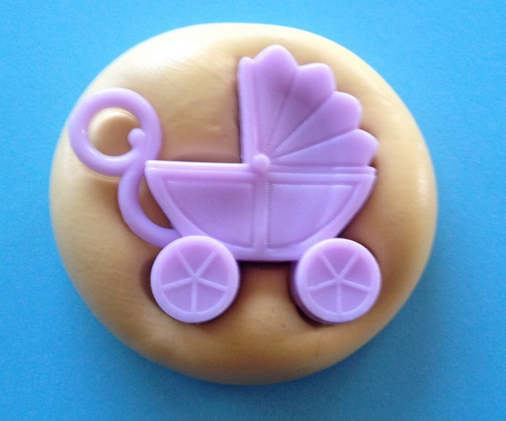 Baby CARRIAGE Silicone MOLD - Baby, Mold, Clay, Sugarcraft Decor, Soap, Resin Mold, Cupcake Topper, Cake Decoration Fondant Mold, Candle Wax by MoldsSweetTreasure on Etsy https://www.etsy.com/listing/174272509/baby-carriage-silicone-mold-baby-mold