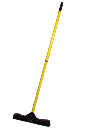 "$12.95 - Commercial Sweepa Rubber Broom (13.5 in.): A Heavy Duty, 13.5""  Rubber Broom For Rugged Use"