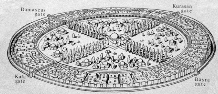 Η ΜΟΝΑΞΙΑ ΤΗΣ ΑΛΗΘΕΙΑΣ: Η κυκλική πόλη της Βαγδάτης: Η ιστορία της μεγαλύτ...