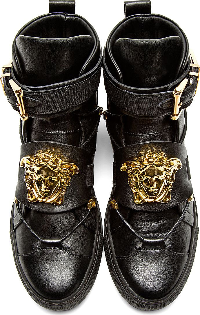 73 best images about versace shoes on pinterest high tops men 39 s shoes and leather. Black Bedroom Furniture Sets. Home Design Ideas
