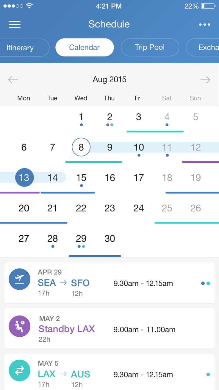 I like this use of this calendar. The thing that caught my eye is that the for each event, it has a corresponding symbol. On the actual calendar the user sees that the symbols are used on the day that those events occur.