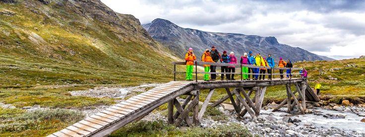 On route from Spiterstulen to Leirvassbu. No Trolls under the bridge thankfully! — at Jotunheimen.