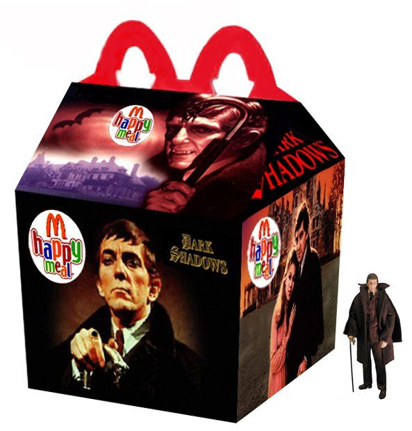 """Dark Shadows"" Happy Meal. I'd have been in heaven!"