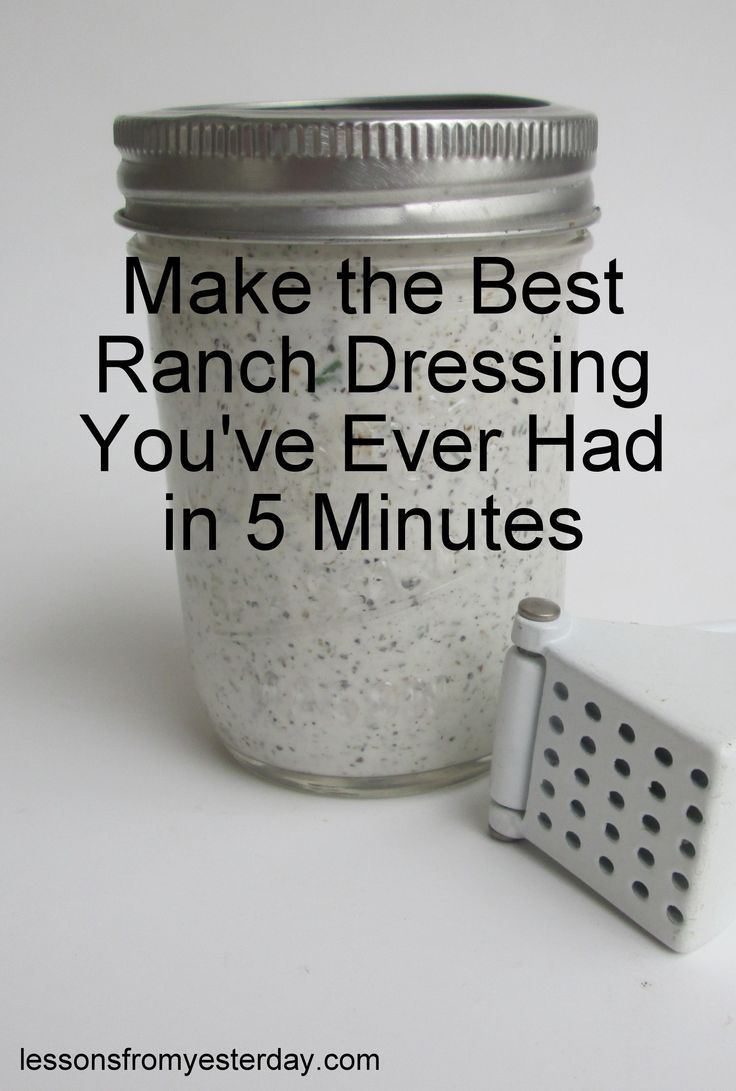 The best ranch dressing ever--make it in 5 minutes with ingredients already in your kitchen! https://uk.pinterest.com/furniturerattan/rattan-sofas/