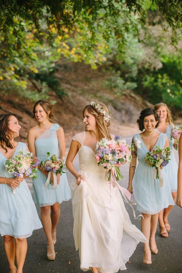 Best 25 pale blue bridesmaid dresses ideas on pinterest light oakland california wedding light blue bridesmaid dressesbeach ombrellifo Choice Image