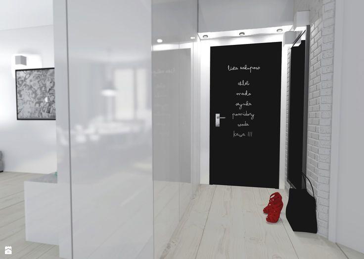 Minimalistyczne mieszkanie - zdjęcie od Shift plus Deco - Hol / Przedpokój - Styl Minimalistyczny - Shift plus Deco