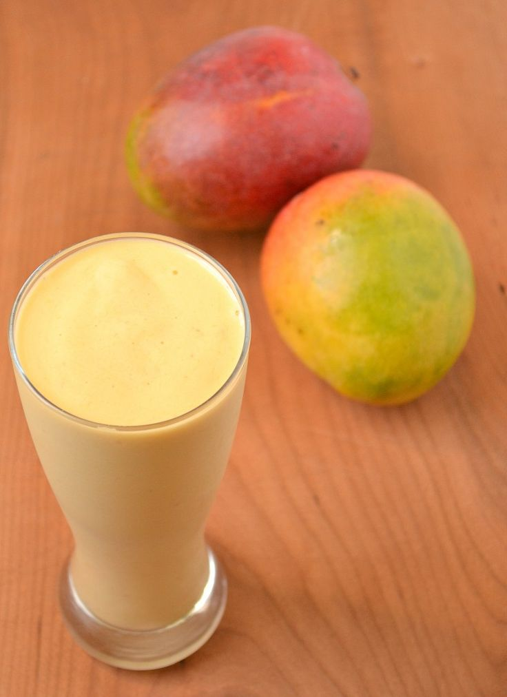 Tropical Mango Smoothie - use 1 scoop Juice Plus Vanilla Complete & you're at the beach!