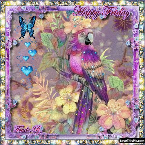 ☺ Good Morning sister and all,Have a happy Friday,and a great weekend,God bless,xxx take care and keep safe❤❤❤☀