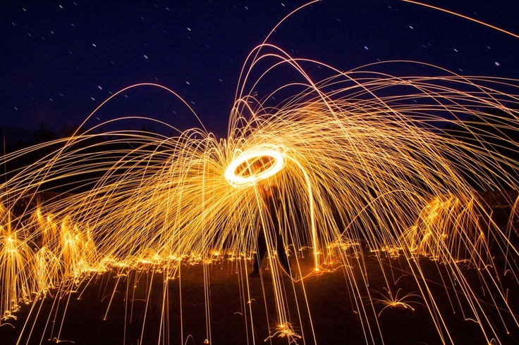 Steel Wool Lasso by Sam Wilson: Photos Inspiration, Photography 3, Beautiful Art Photography