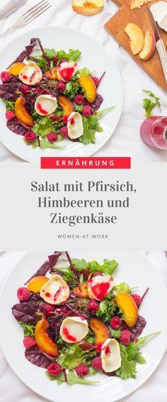 Ziegenkäse ist sicher nicht für jeden etwas. Im Salat mit Früchten schmeckt er allerdings nicht ganz so stark und gibt einen tollen Kontrast zur süßen Komponente. Zudem hat man den Vorteil, dass der Salat durch den Käse auch wirklich richtig satt macht. Das Rezept ist schnell gemacht und schmeckt super!