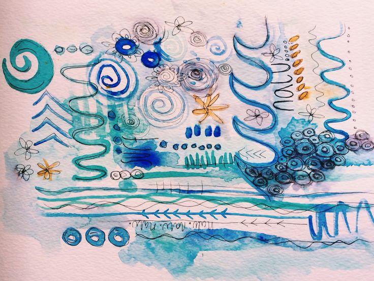 Illustration inspired by my new love for Nalu Beads #nalubeads #nalu