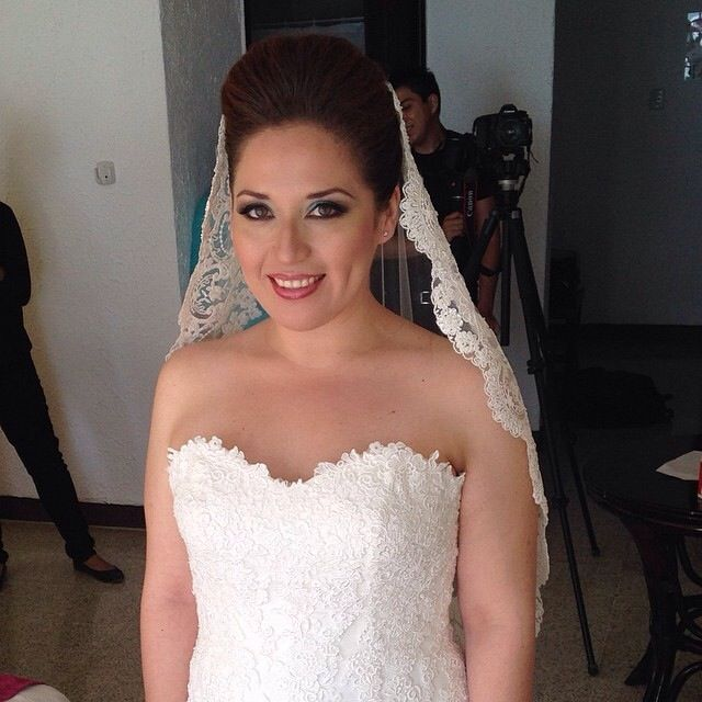 One of my beautiful brides in  THE HOTEL SIHO  PLAYA CAMPECHE