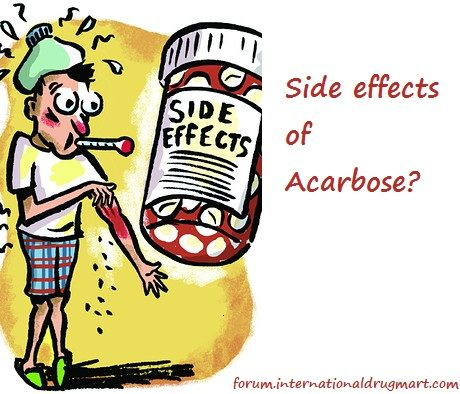 Acarbose Side Effects Metabolism