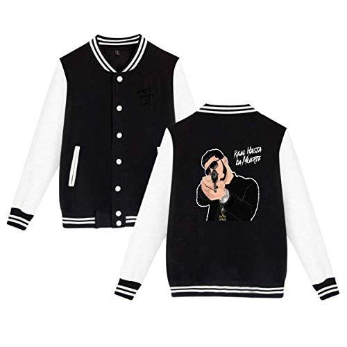 New Baseball Uniform Jacket Sport Coat Real Hasta La Muerte Anuel Aa Cotton Sweater For Women Men Boy Girls Online Shopping Hoodie Fashion Sweatshirts Hoodie