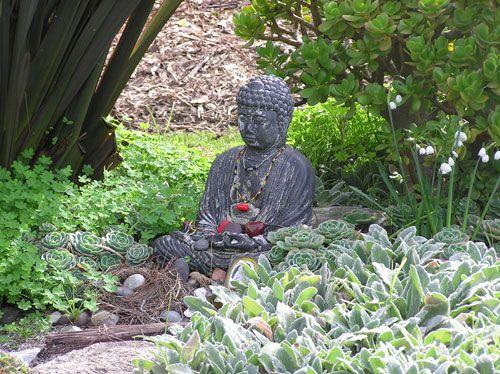 how to make a buddha garden