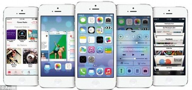 The new generation iPhone expected to be launched on September 10 will run new software iOS 7 and possibly include a finger-print scanner