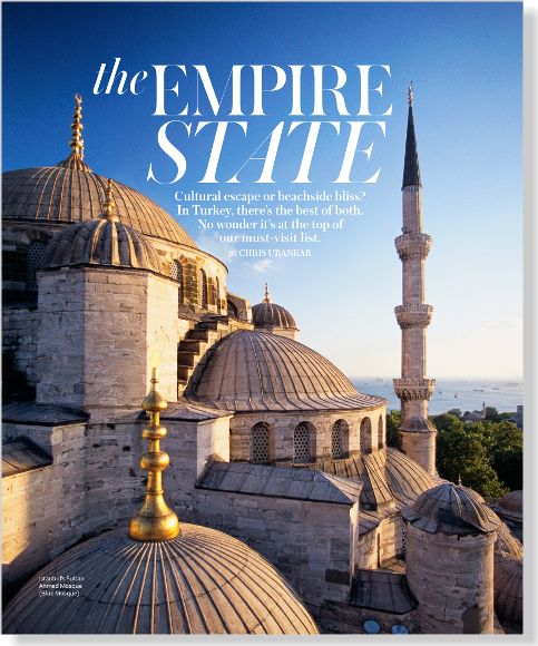 Travel: The Empire State. Clipped from InStyle using Netpage.