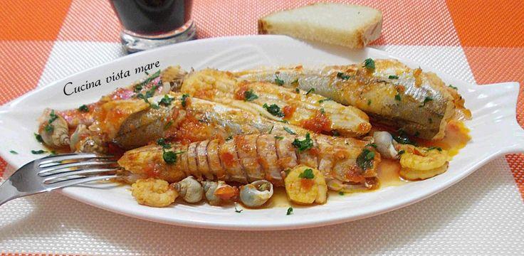 Brodetto di pesce Cucina vista mare
