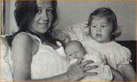 Geboorte broertje Martín, 28 oktober 1972