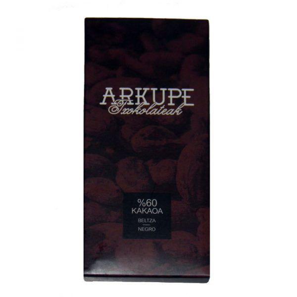 Este Chocolate Artesanal Negro de Navarra se elabora en la chocolatería Arkupe con la mejor selección de granos de cacao. En 2-3 días te llegará a casa #chocolate #gourmet #gastro #navarra #artesano #artesanoslocales