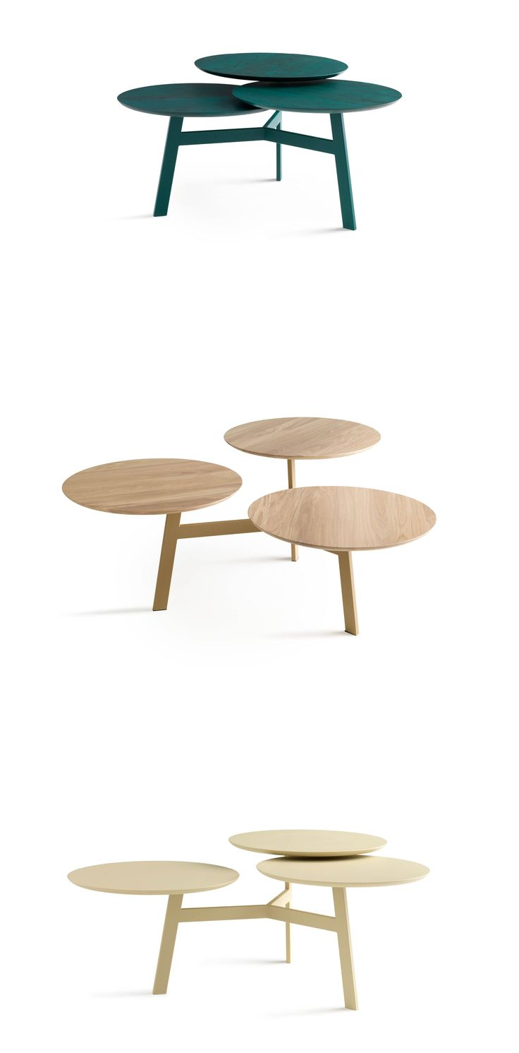 Sofa removable free spirited and flexible d 233 sir 233 e - Side Table Ninfea By Leolux Offers Countless Colourful Choices And Is Extremely Flexible As Well