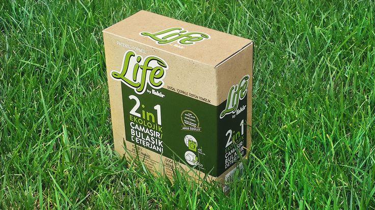 #ecological #detergent #packaging #design for the brand Life by Fakir
