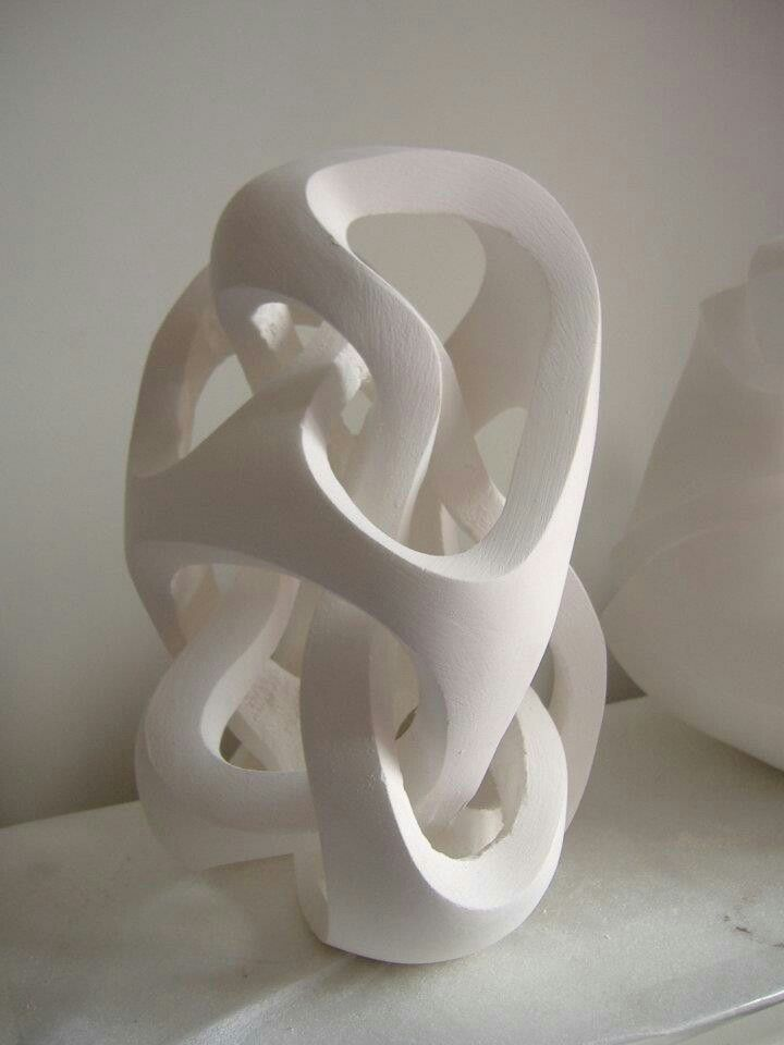 Plaster Sculpture Untitled Work In Progress Image 2 By Andy