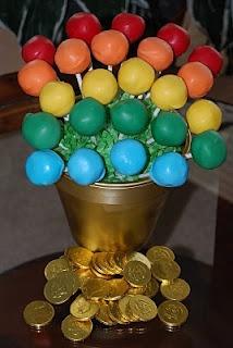 Pot of Gold Cake Pops