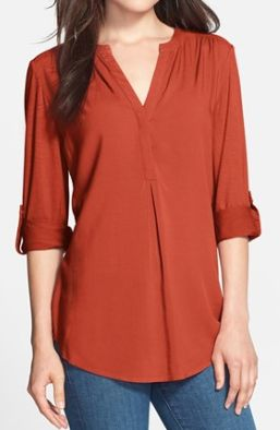 orange clay tunic  http://rstyle.me/n/qrz8wpdpe