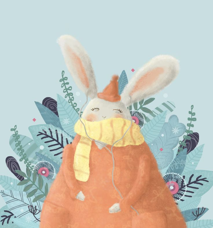 Chillin' Bunny https://www.behance.net/mytianoe