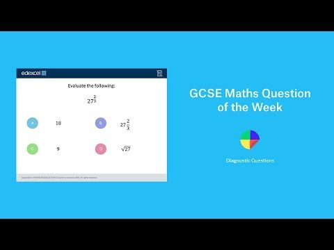 Laws of Indices: GCSE Maths Question of the Week - YouTube