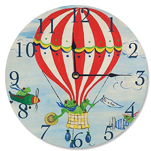 Hot Air Balloon Wall Clocks