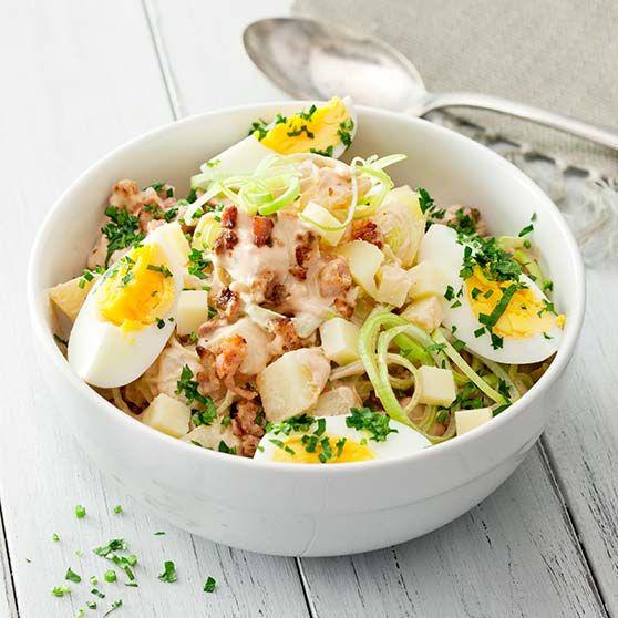 Ruokaisa perunasalaatti