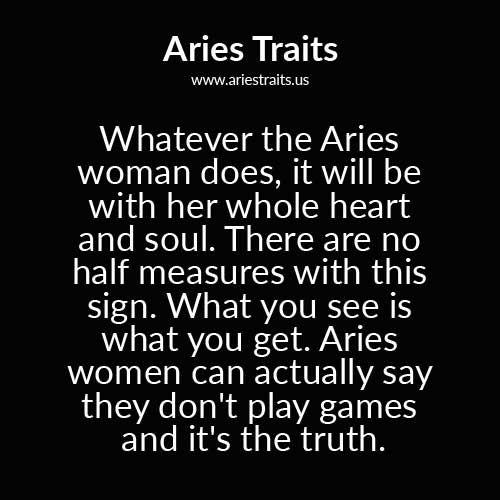 Femme aries sexy horoscope