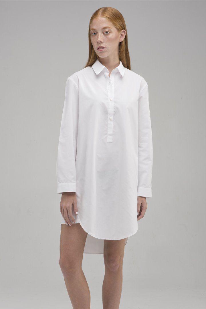 c951745313 Women's Knee-Length Shirt Dress • Anni • System of Motion • Shop Now