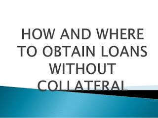 Secured Loans-Get Business Loan Without Collateral In Nigeria