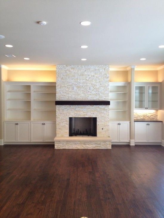 Stacked Stone Fireplace Design, Pictures, Remodel, Decor and Ideas