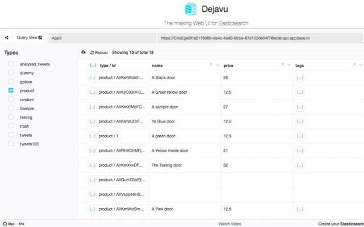 Dejavu 2.0 - Open-source data browser for Elasticsearch. (Website, Productivity, and Open Source)