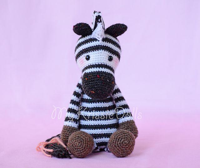 Ravelry: Betje Zebra pattern by Kristel Droog