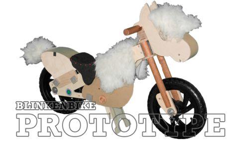 BLINKENBIKE Model WildDuck with Pony Accessories