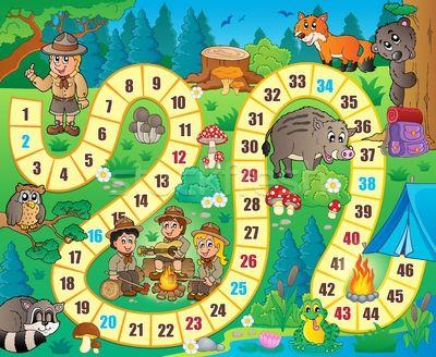 Board game theme image 8 - vector illustratie van Klara Viskova (clairev) - Stockfresh #5170688