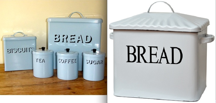 Kitchen Countertop Canisters And Bread Boxes