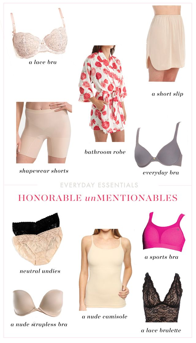 Ten Undergarments Every Woman Should Own | Kendi Everyday